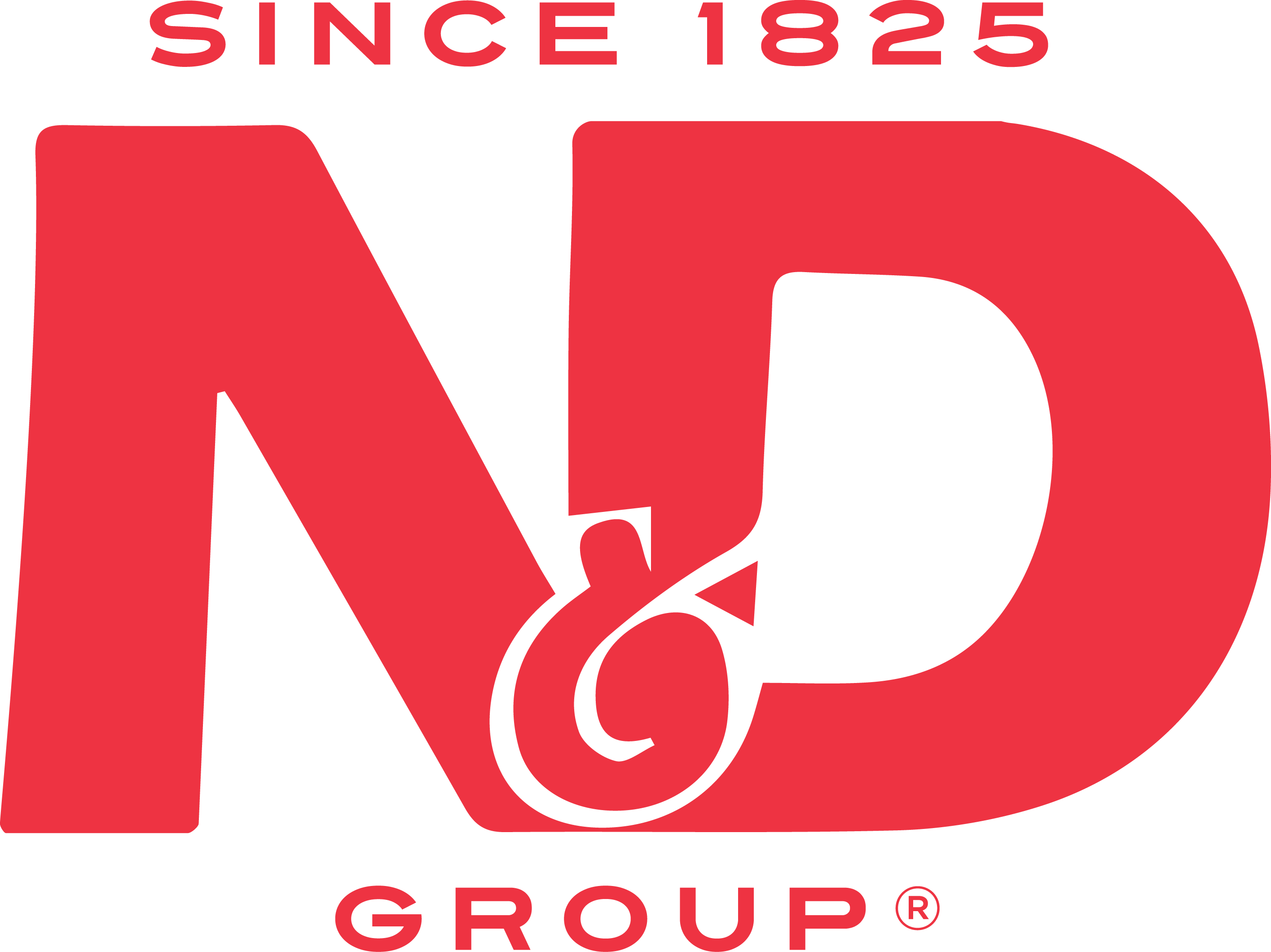 ND Group 2015 Pantone Red 032 C